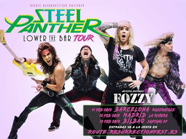 steel panther resurrection 2018